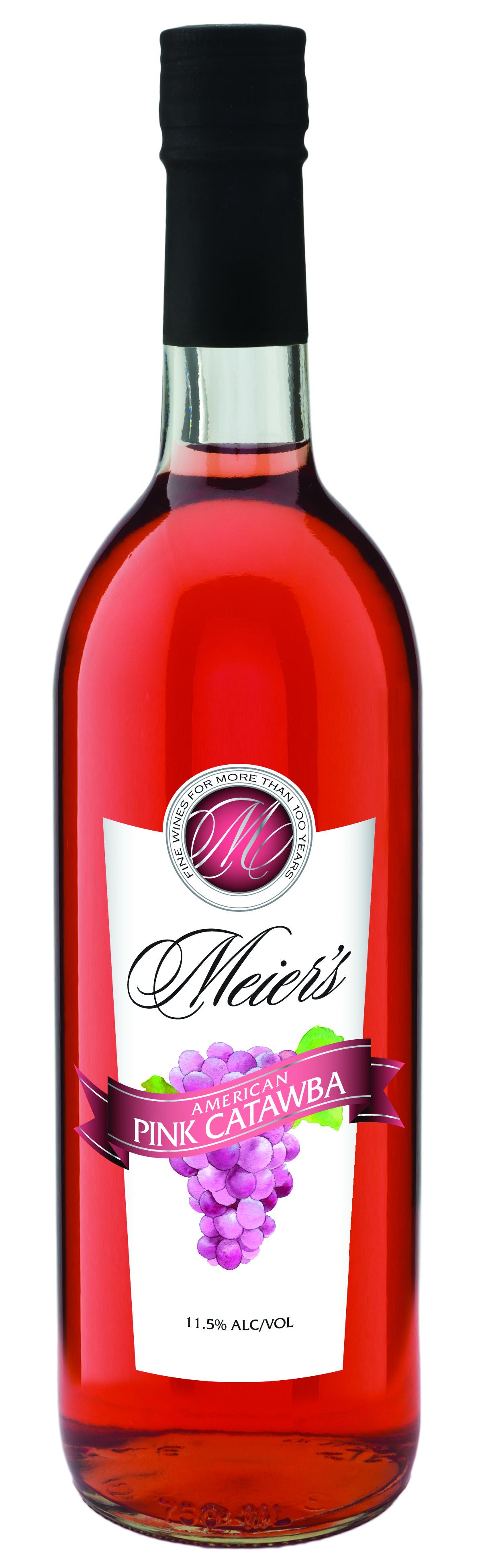 Meier S Pink Catawba Wine Meier S Wine Catawba Wine Mead Wine Wine
