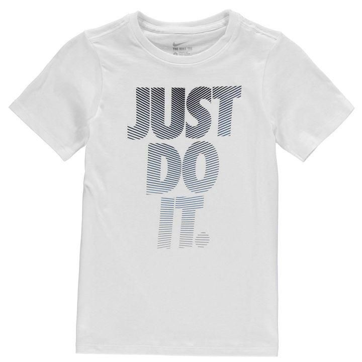 Nike   Nike Futura Just Do It T Shirt Junior Boys   Junior Boys T Shirts