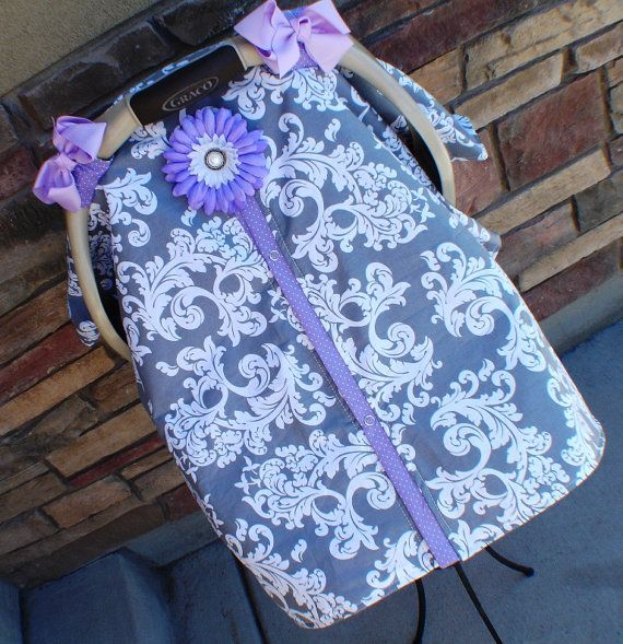 Carseat Canopy Free Shipping Code Today By SooShabbyChic On Etsy 3799