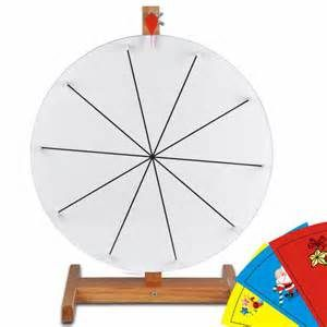 16 Prize Wheel Free Template Diy Design Tabletop Spin Game Trade