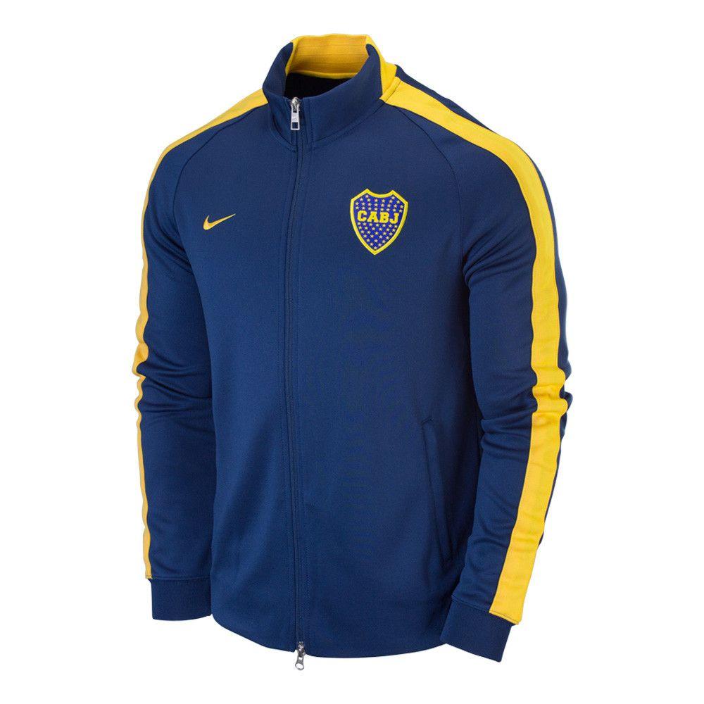 Adaptabilidad caravana Mal uso  Nike Boca Juniors N98 Track Jacket | Sudaderas, Ropa, Chaquetas