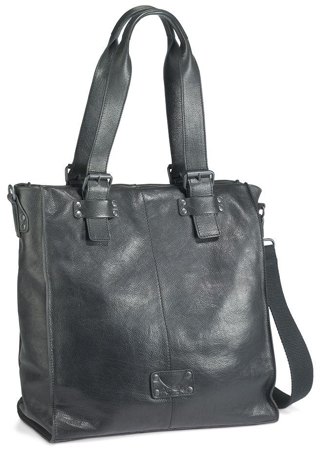 Lässige Tasche / Shopper Tasche / Schultertaschen der Kultmarke SANSIBAR  Bags aus hochwertigem Vollrindleder**