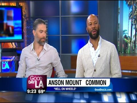 Common and Anson Mount Roll Like 'Hell On Wheels' - Los