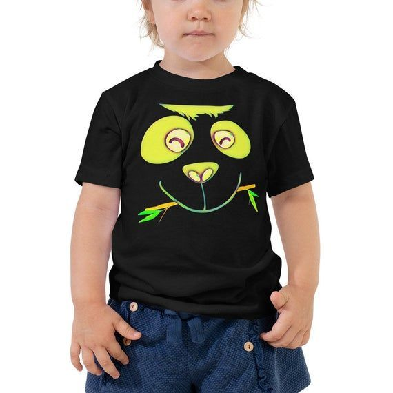 Funny Kids Tshirt-Panda Kids T-shirt-Baby Bear-Panda Baby Shirt-Gift For Baby-Panda Party-Giant Panda-Panda Face-Funny Kids Clothes-Toddler - #babypandabears