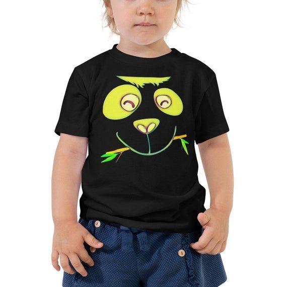 Funny Kids Tshirt-Panda Kids T-shirt-Baby Bear-Panda Baby Shirt-Gift For Baby-Panda Party-Giant Panda-Panda Face-Funny Kids Clothes-Toddler - #babypandabears