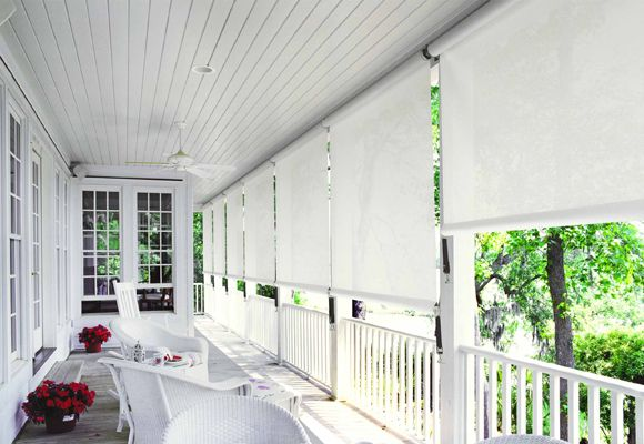 For The Deck Australian Homes Outdoor Blinds Outdoor Living Design