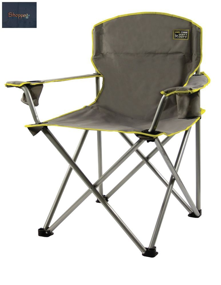 C&ing Beach Chairs Heavy People 500lbs Cap Outdoor Folding Chair with Bag new #QuikShade  sc 1 st  Pinterest & Camping Beach Chairs Heavy People 500lbs Cap Outdoor Folding Chair ...