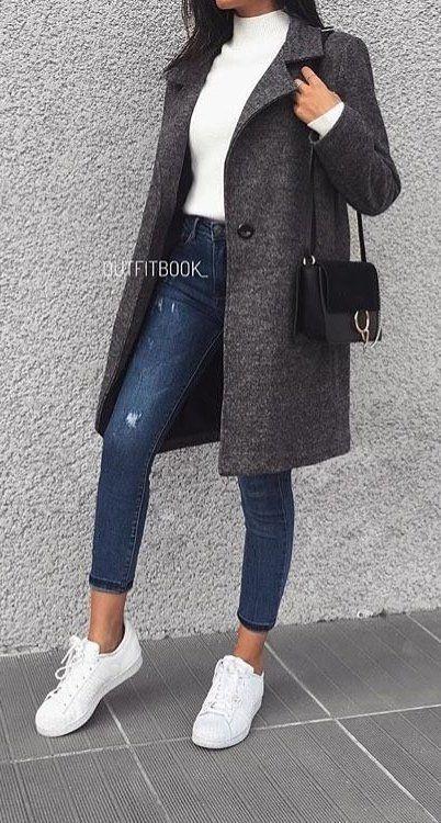 Über 100 brillante Frühlingsoutfits, die immer fantastisch aussehen  #aussehen #brillante #fantastisch #fruhlingsoutfits #immer Winter Outfits Frauen #winterwear – Spring Outfit
