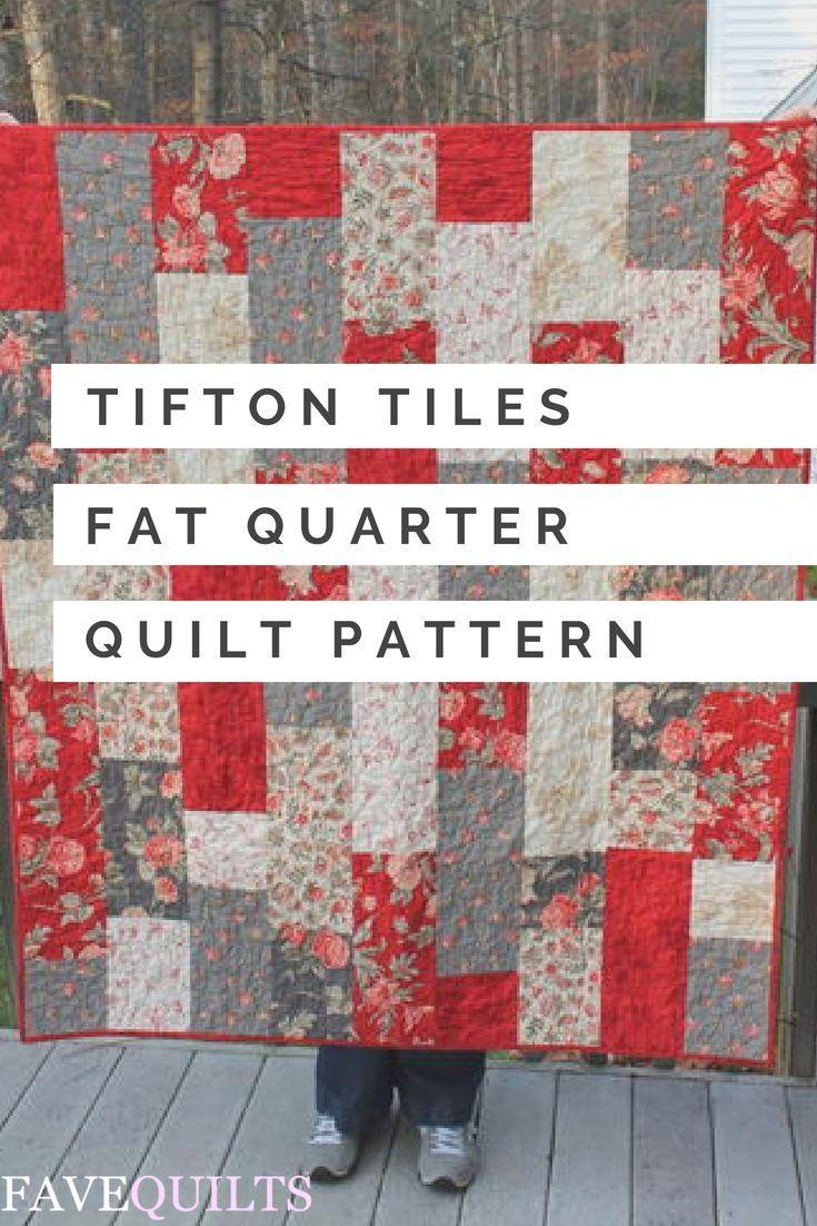Tifton Tiles Fat Quarter Quilt