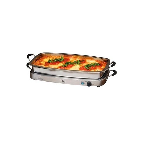 Elite Platinum Stainless Steel Deluxe 5 Quart Electric