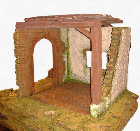 Belen Artesanal Catalogo De Construcciones Belenes Casas Para Belenes Manualidades Navidenas