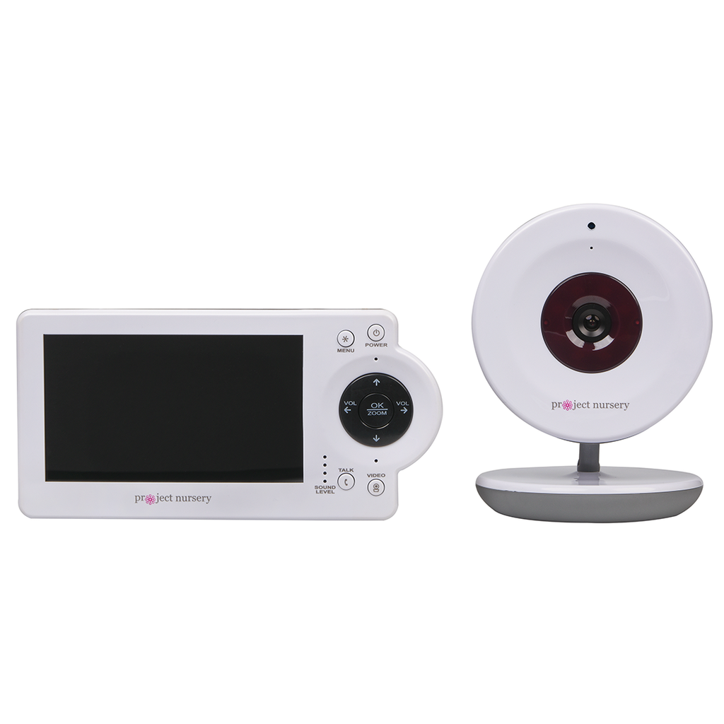 Video Baby Monitor System with Digital Zoom Camera | Project ...