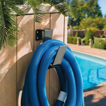 Jumbo Pool Hose Hanger I Could Use This Jumbo Hanger To Store The Vacuum Hose For The Wet Vac 14 99 Pool Hoses Pool Vacuum Hose Pool Shed