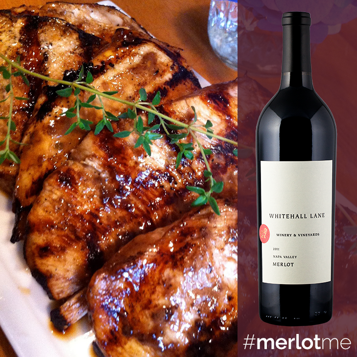 Pair our Merlot with your next meal.