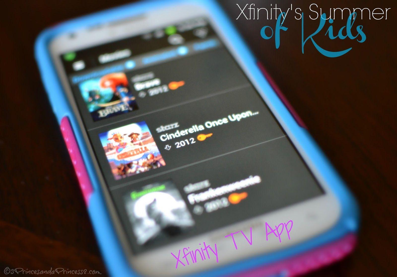 Comcast Xfinity TV app review Tv app, Programming for