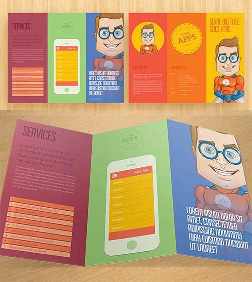 Cara mendesain brosur agar tampil unik dan menarik Brochure - psd brochure design inspiration