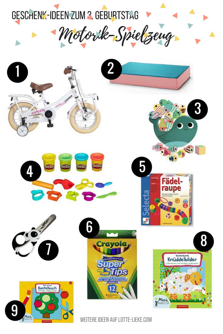 Geschenk-Ideen für 3-Jährige (zum Geburtstag oder Weihnachten ...