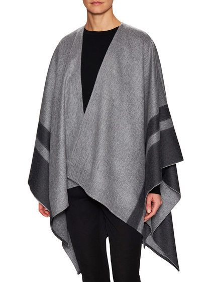 Merino Wool Cape by Amicale at Gilt