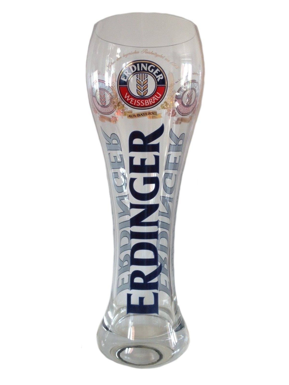 Erdinger - 3.0 Litre - XXL German Beer Glass ...