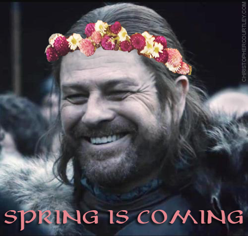 Seanbean As Nedstark From Gameofthrones Spring Is Coming