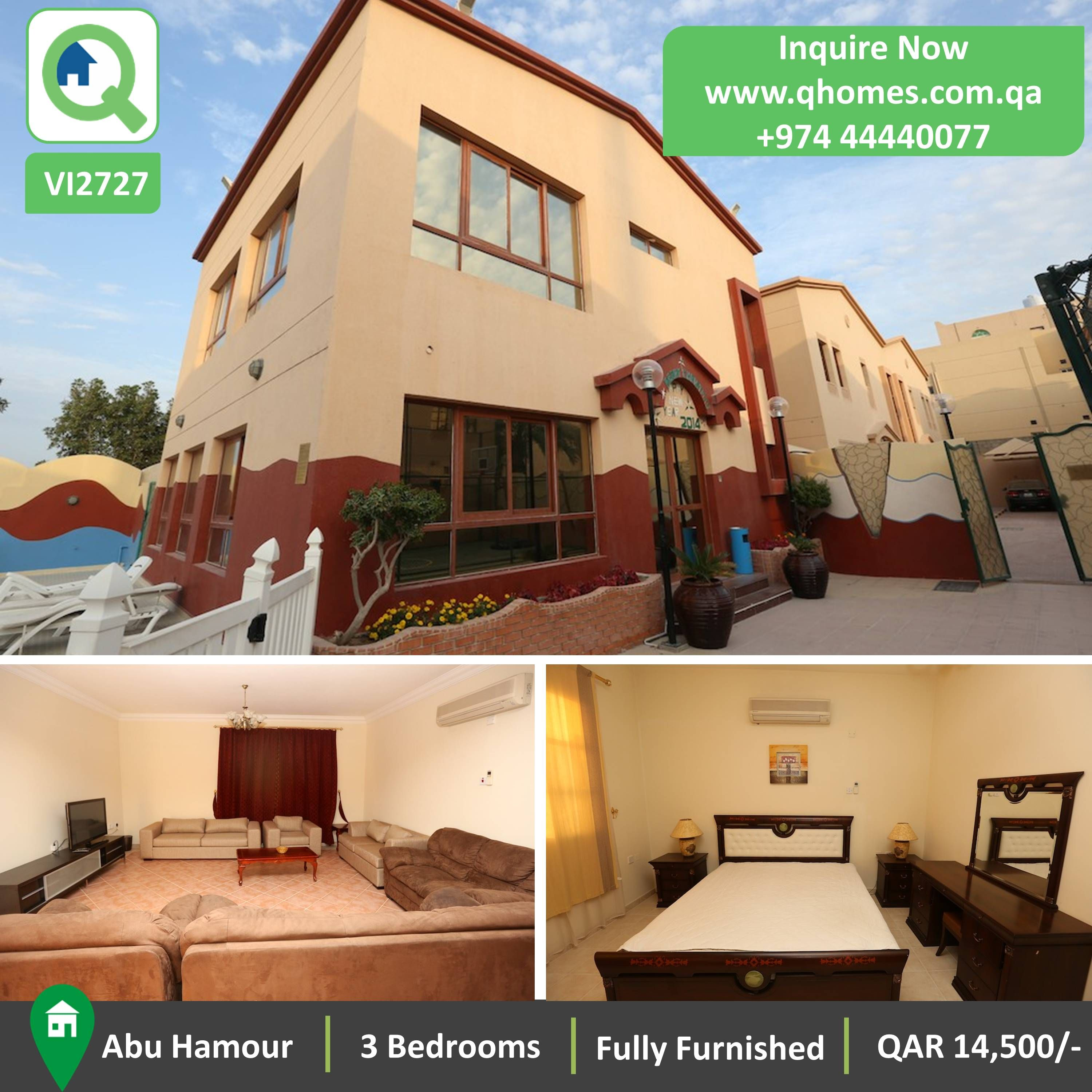 Villa For Rent In Qatar: Huge And Luxurious Fully
