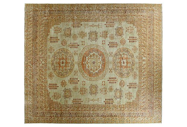 "7'9"" x 9' Lopu Rug, Tan/Multi on OneKingsLane.com"
