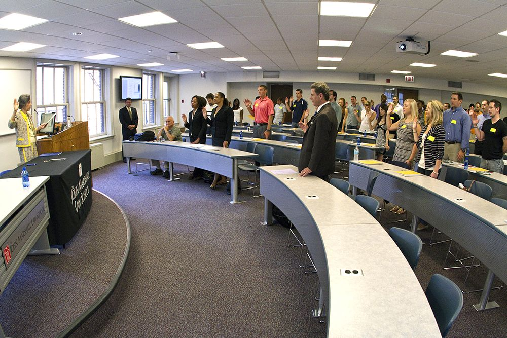 The Pledge Of Professionalism The Students Commit Themselves To Upholding The Highest Standards And Ideals Of The Legal P Law School Marshall Law Us School