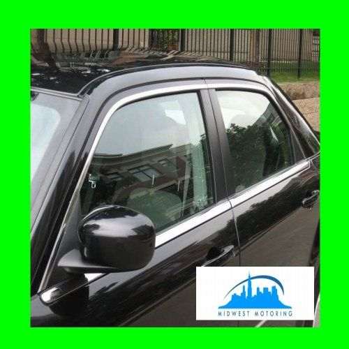 2005 2010 Chrysler 300 300c Precut Chrome Upper Window Trim Moldings 4pc 2006 2007 2008 2009 05 06 07 08 09 Chrysler 300 2010 Chrysler 300 Window Molding Trim
