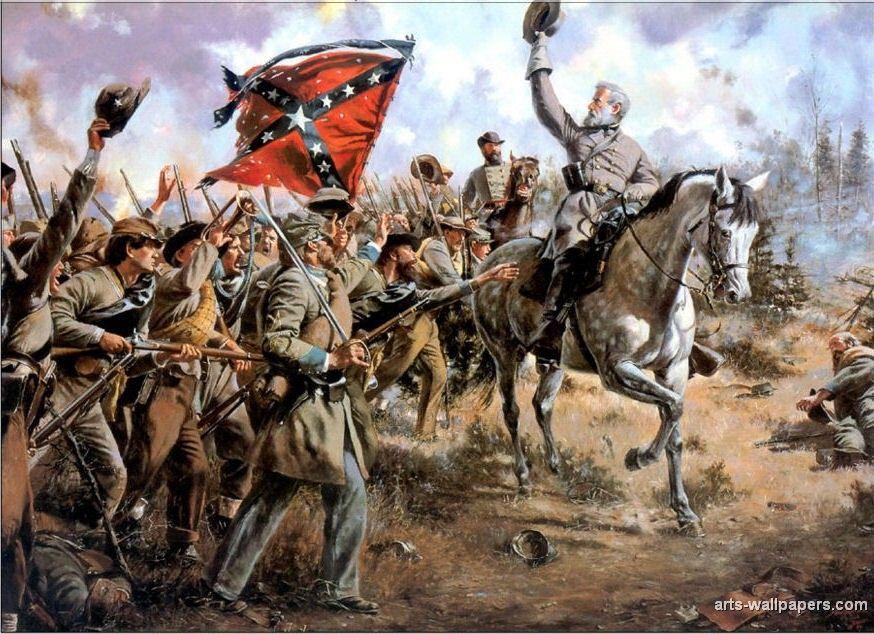 Civil War Historical Painting | Civil war artwork, Civil ... |American Civil War Battle Paintings