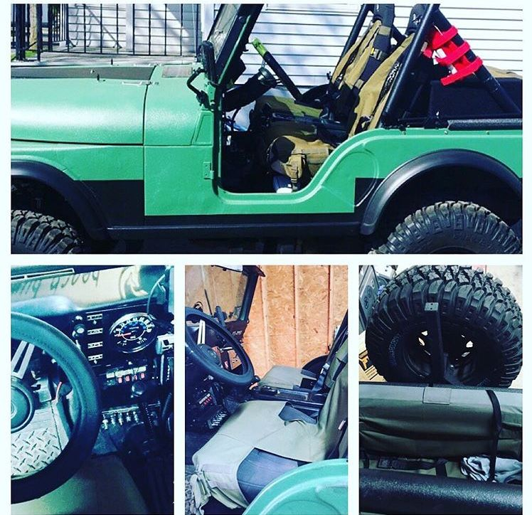 Pin by Joe Paul on My 81 CJ5 painted with bed liner (With