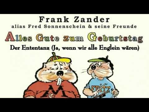 Frank Zander Der Ententanz Ja Wenn Wir Alle Englein Waren