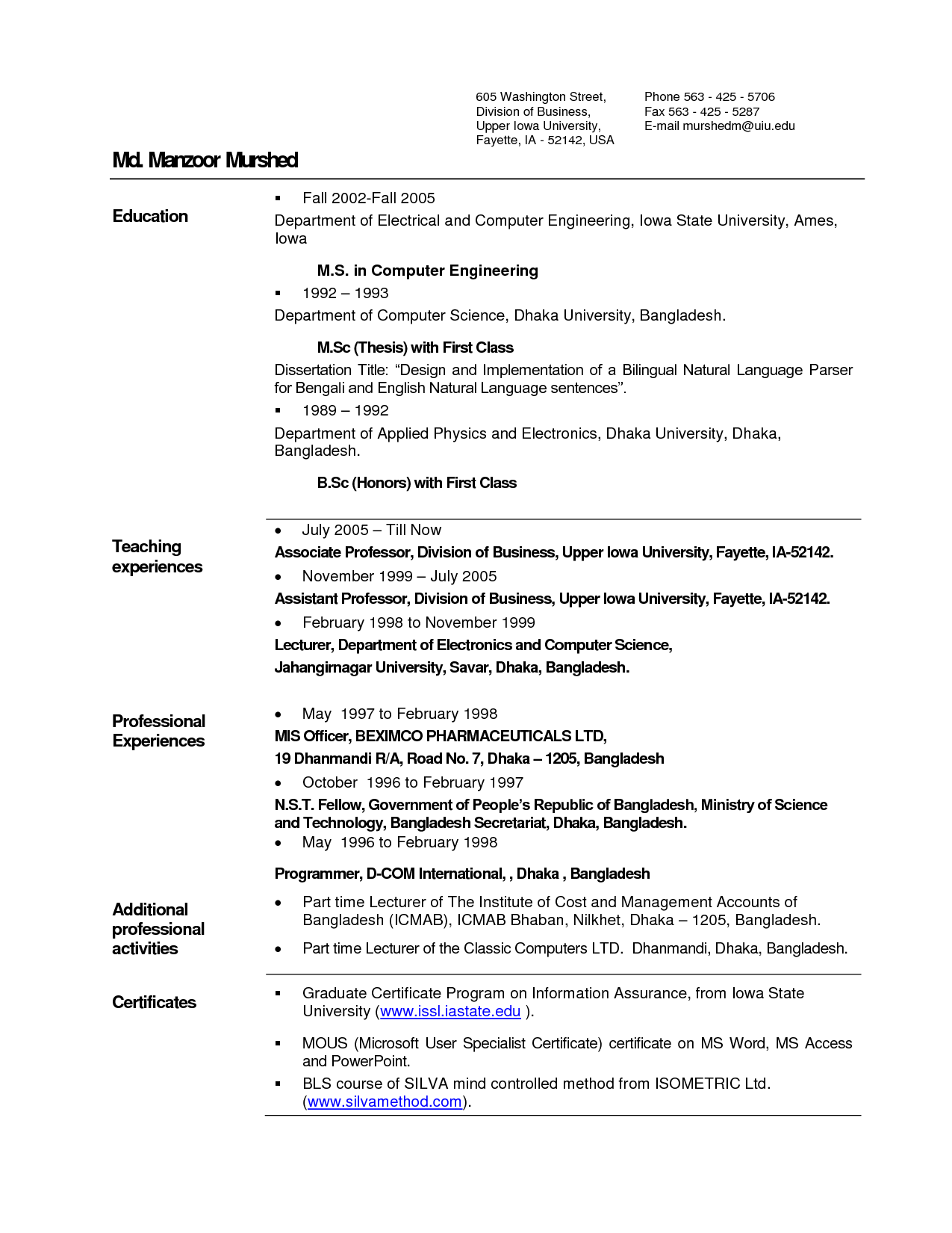 best resume samples for electrical engineers pdf