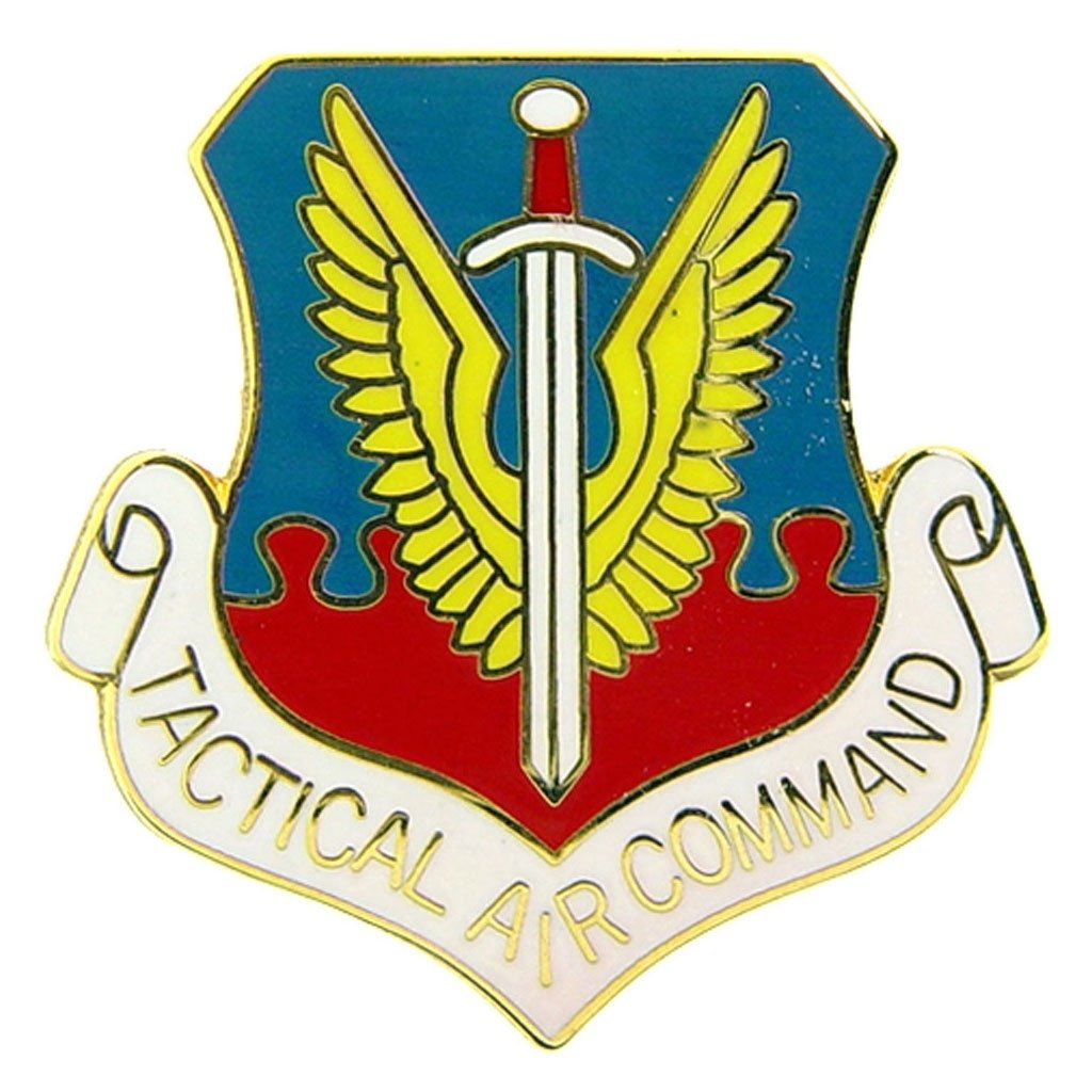 US Air Force Tactical Air Command Military Lapel Pin