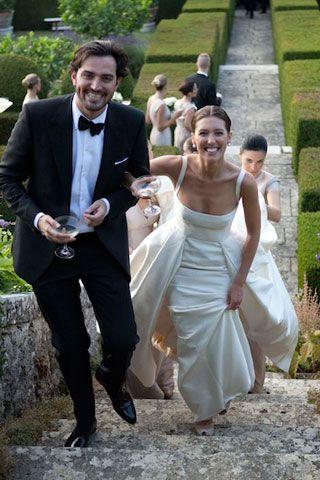Emilia Wickstead Wedding Reception