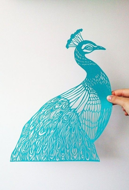 I did a little happy dance when I stumbled upon Monique van Uden's papercut creations today. Absolutely gorgeous! Many more of her work posted on ArtisticMoods.com: http://www.artisticmoods.com/monique-van-uden/