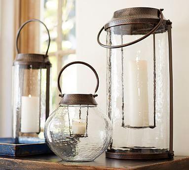 Colton Lanterns #potterybarn