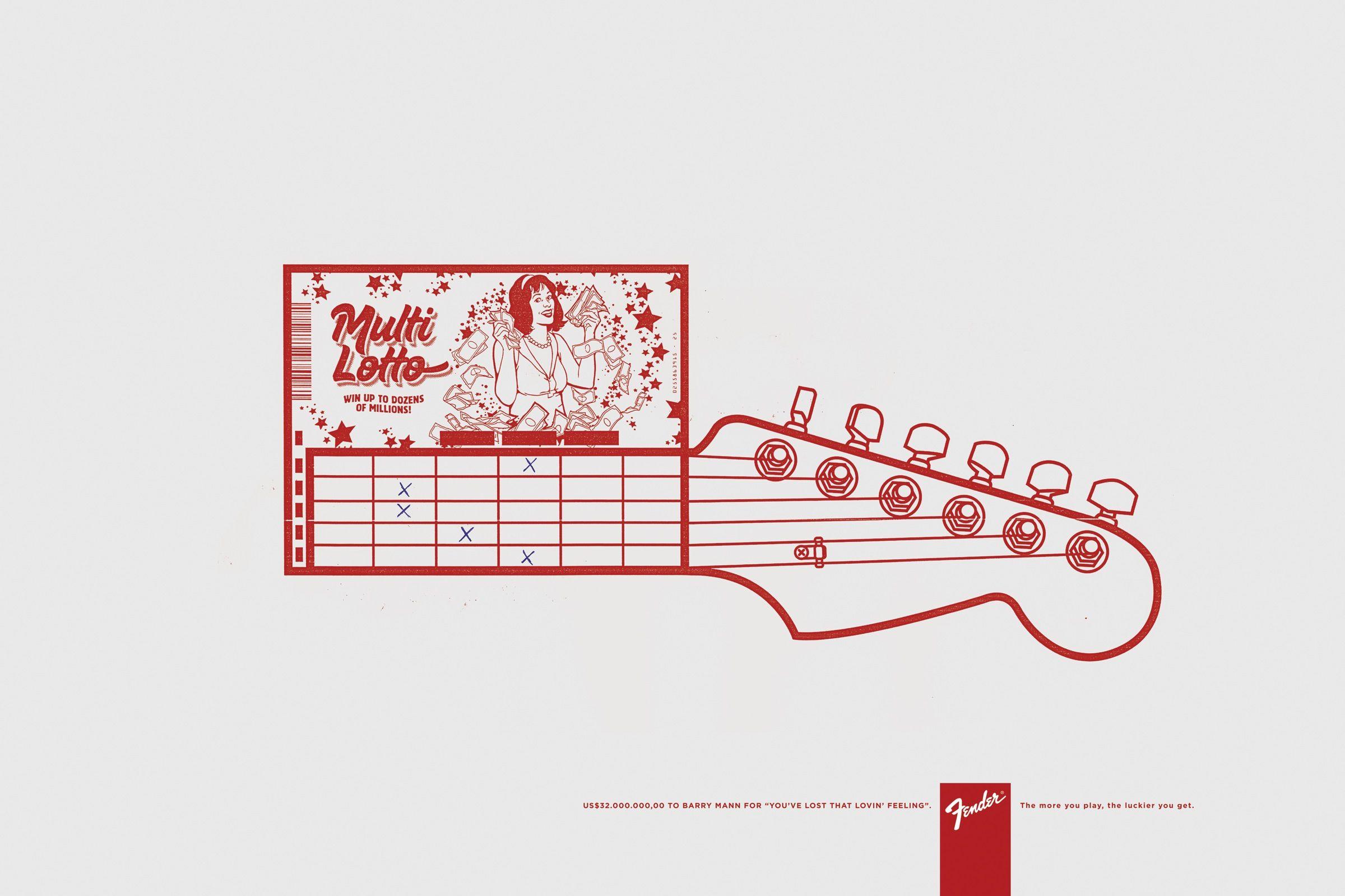 Adeevee - Fender: Multi Lotto, Mega Millions, Flash Cash, Big Fortune