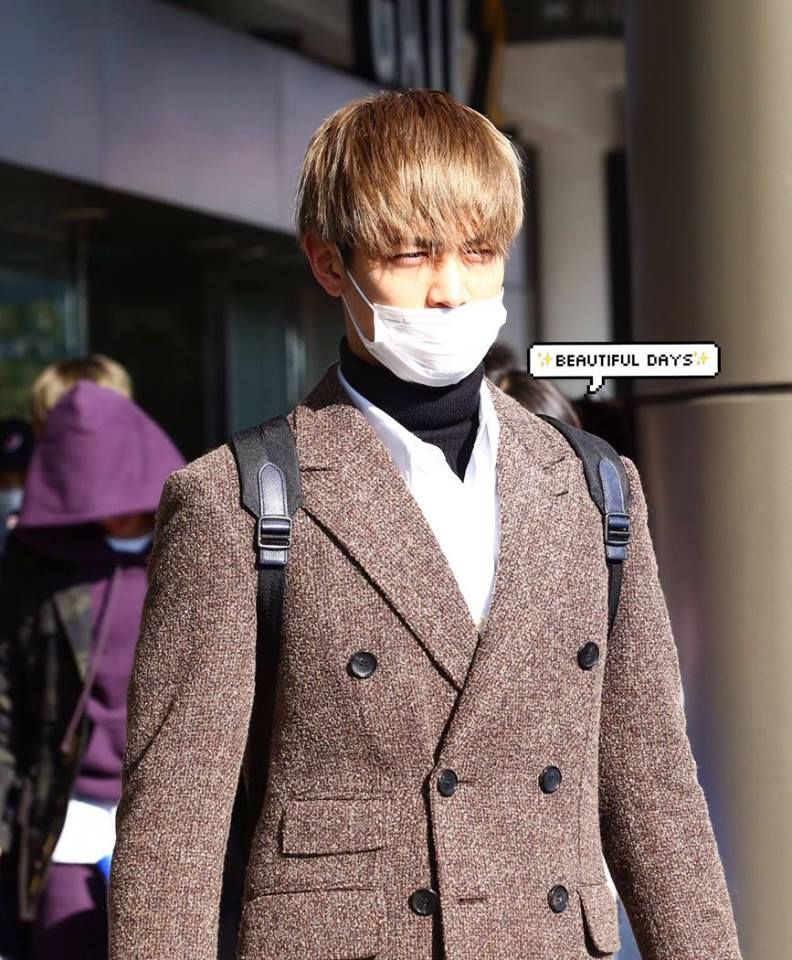 161215 Minho @ Gimpo Airport from Japan.