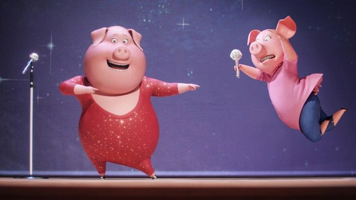 Sing 2016 Rosita Pig Wallpaper Trailer Divertidamente Animacao Amigos Do Bem