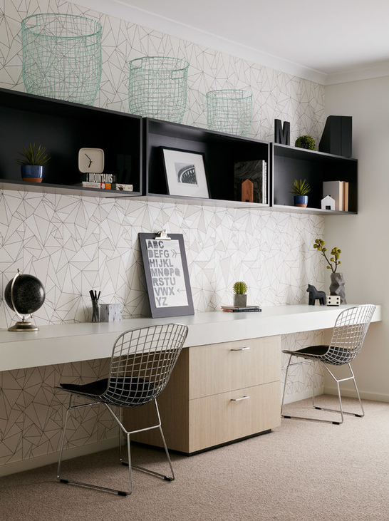 Contemporary Office Found On Houzz