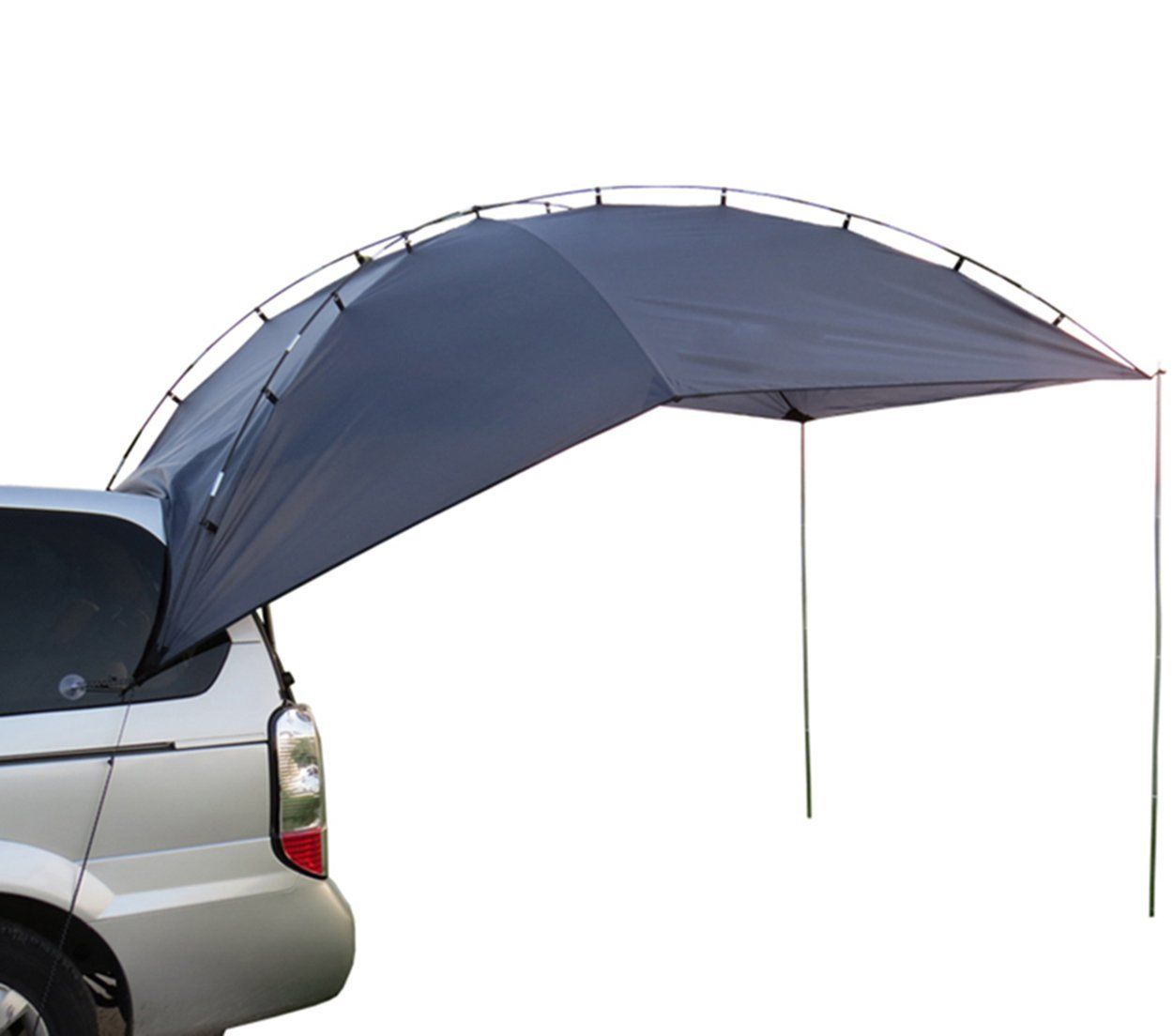 Hasika Awning C&er Trailer Roof Top Family Tent for Beach C&ing SUV MPV Hatchback  sc 1 st  Pinterest : cheap family tents - memphite.com