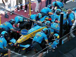 Pit Stop Renault