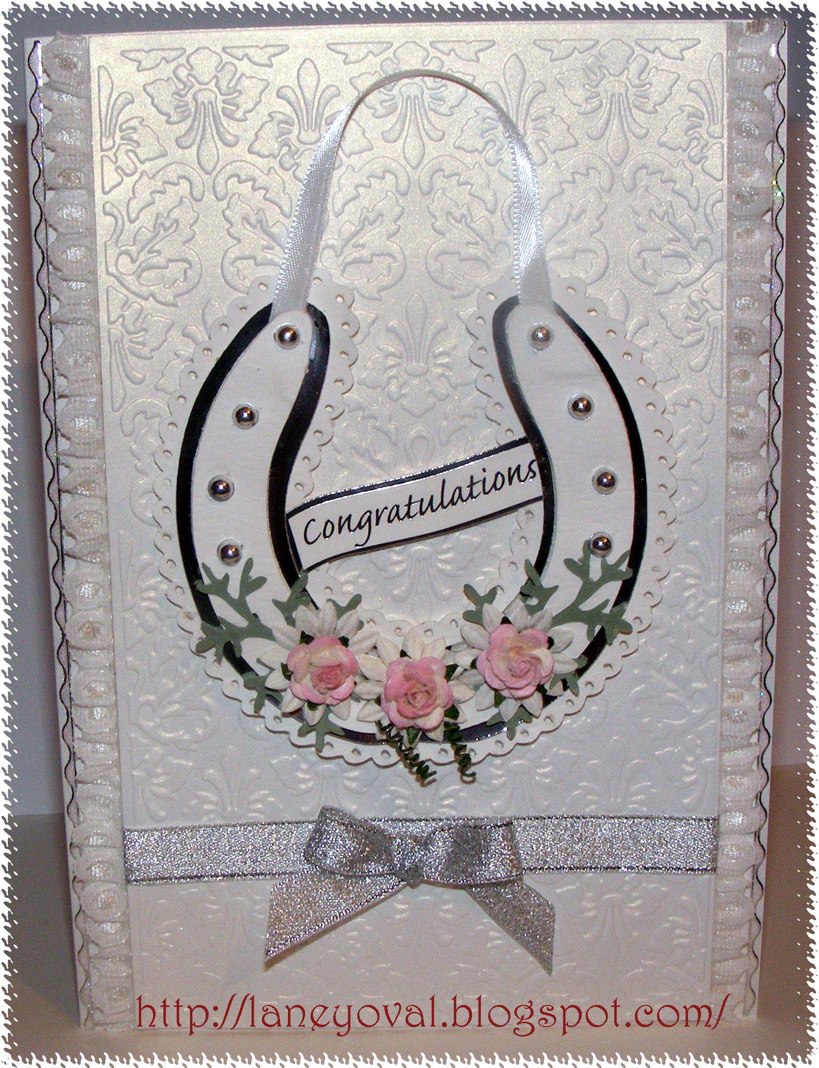 Horseshoe card (With images) Wedding horseshoes, Wedding
