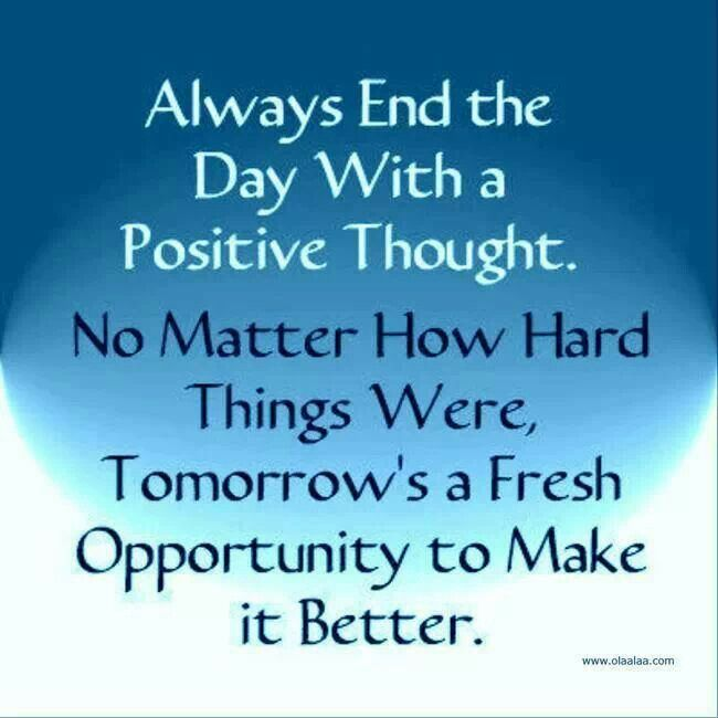 Thoughts Before Bed Words Positive Thoughts Positive Quotes