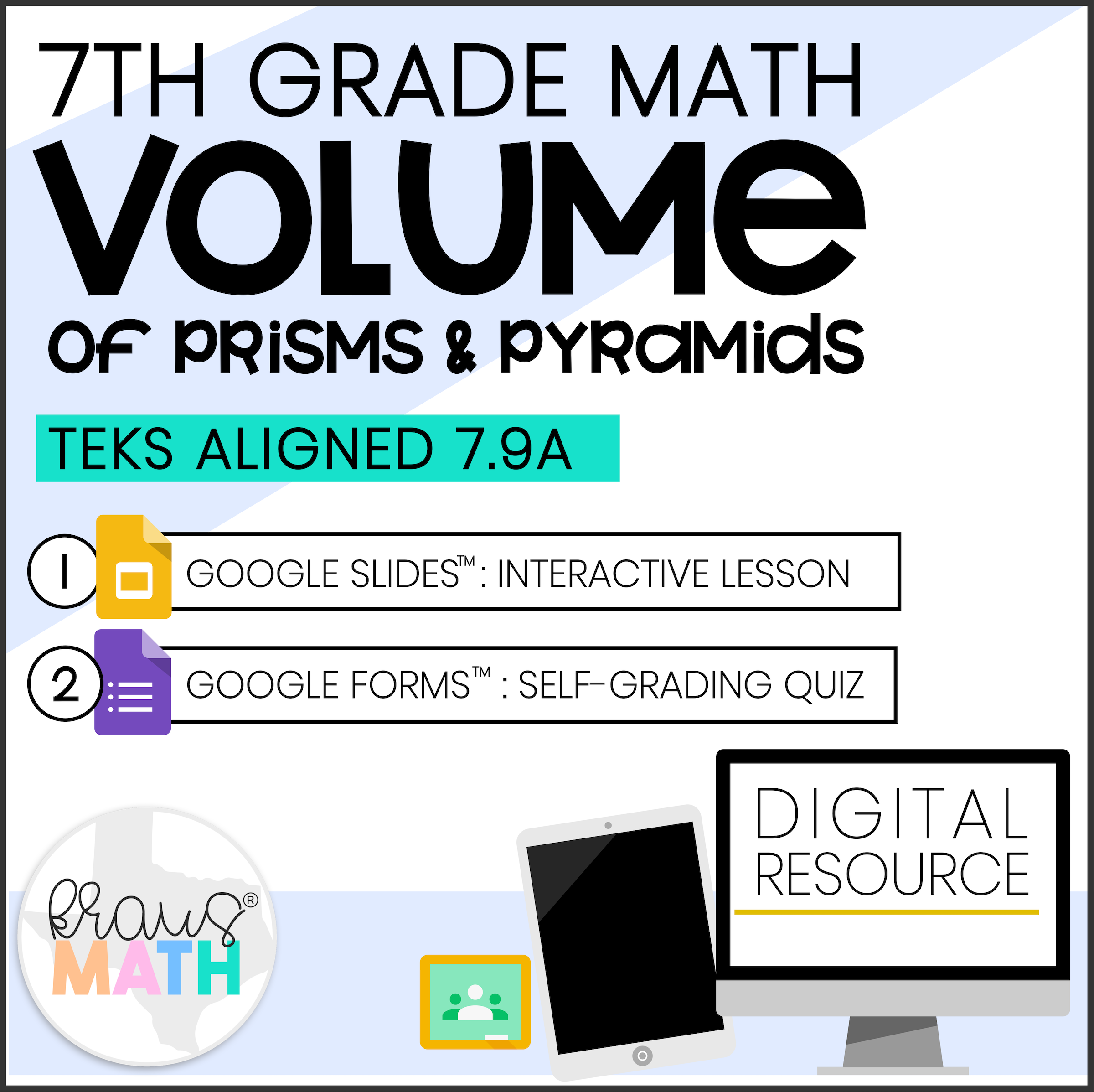 7th Grade Math Volume 7 9a