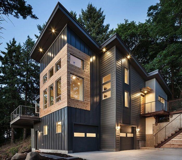 20 Stunning Industrial Exterior Design Ideas Modern Rustic Homes