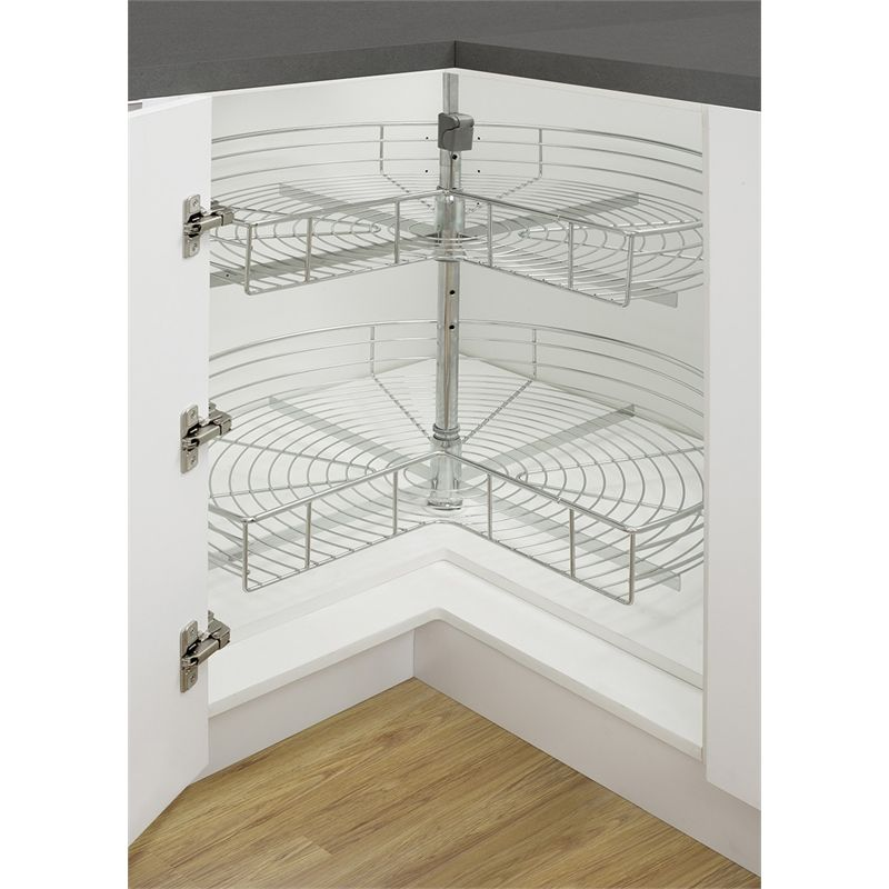 kaboodle 2 tier corner rotating baskets kitchen corner cupboard corner kitchen cabinet on kaboodle kitchen bunnings drawers id=16273