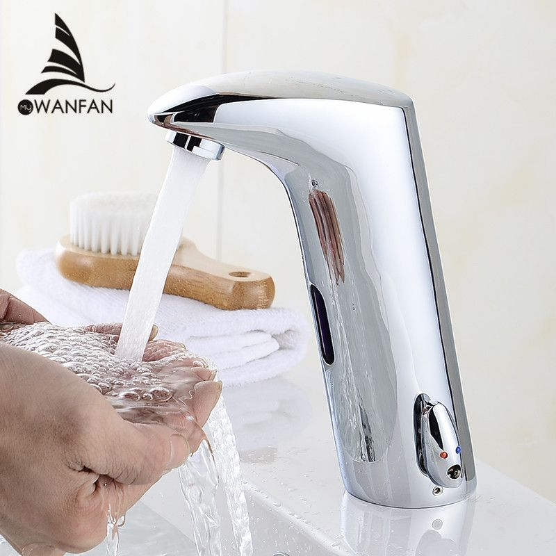 check price faucet sensor bathroom automatic hands touch free water ...