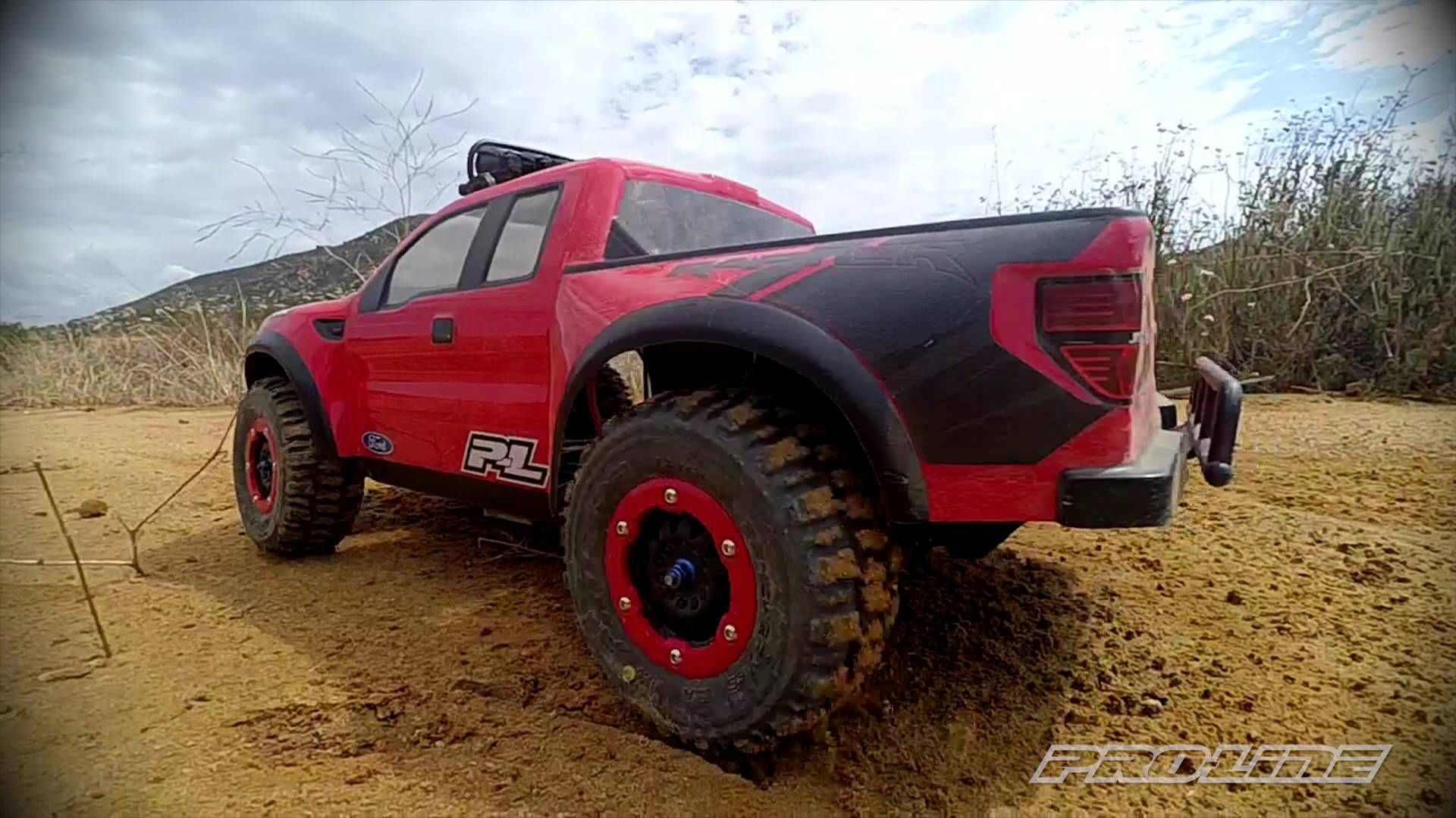 ProLine Ford F150 Raptor Body with Trencher X Tires