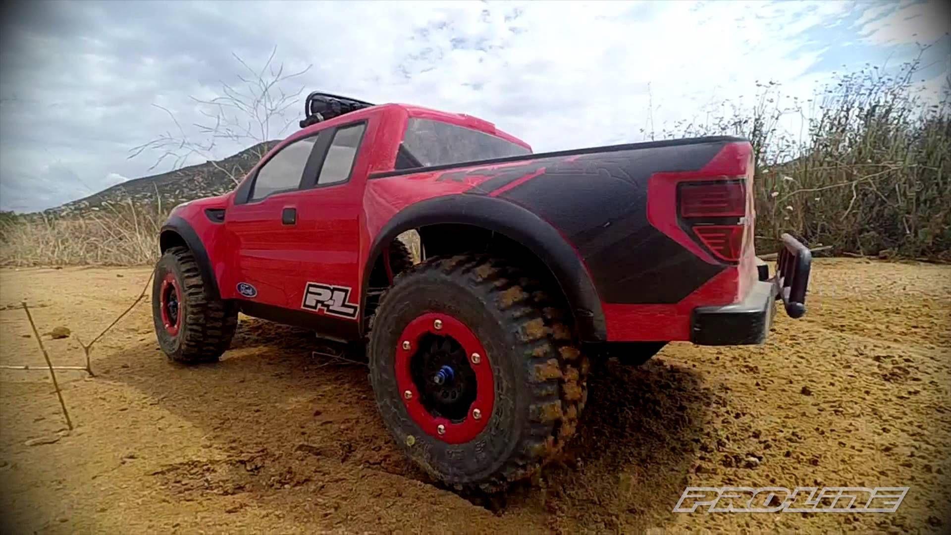 Ford Raptor with Proline trenchers Traxxas Radio control cars E Revo Pinterest